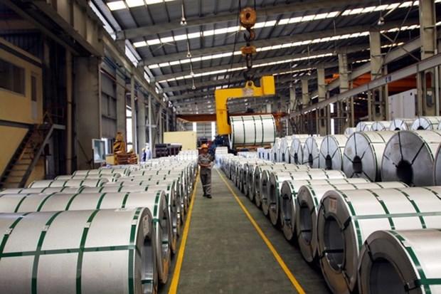 韩国钢铁企业将眼球转向越南 hinh anh 1