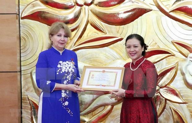 越南与亚美尼亚人民促进友好合作关系 hinh anh 1