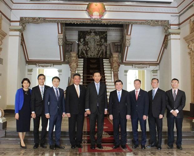 新加坡吉宝集团有意同胡志明市建立长期伙伴关系 hinh anh 1