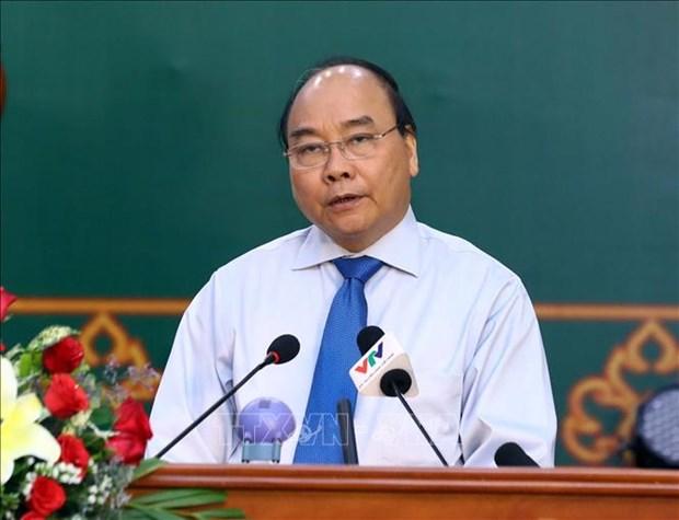 越南政府总理阮春福出席高棉族2019传统新年见面会 hinh anh 3
