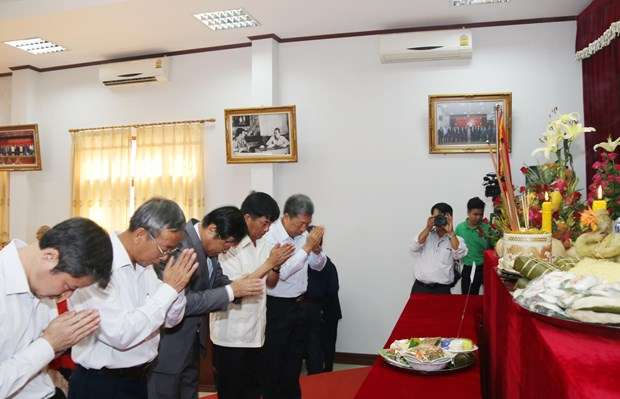 雄王祭祖日活动首次在老挝举行 hinh anh 2