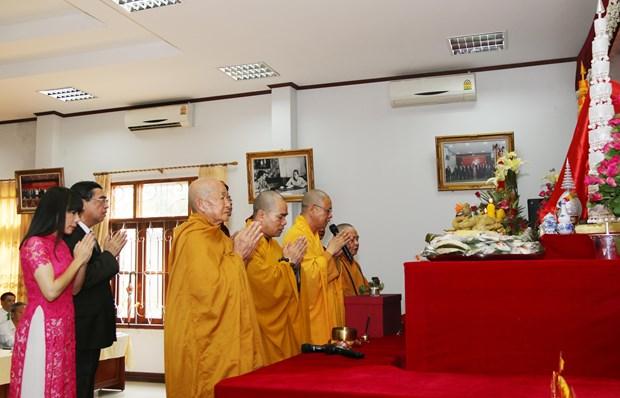雄王祭祖日活动首次在老挝举行 hinh anh 1