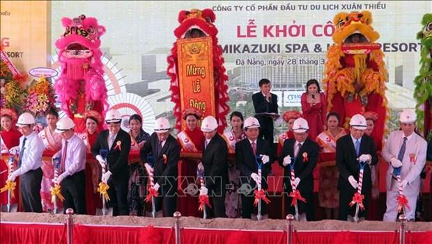 岘港市春韶旅游度假区将带有日式休闲的风格 hinh anh 1