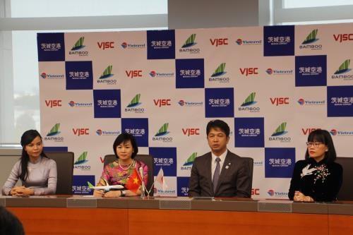 越竹首个飞往日本的航班将于4月底起飞 hinh anh 1