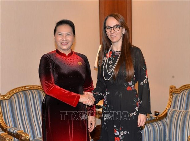 IPU主席:越南是持续不断行动而兑现国际承诺的榜样 hinh anh 1