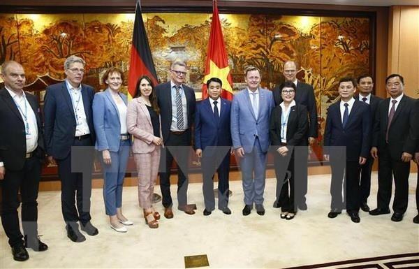 德国为越南劳动者进行免费职业培训 hinh anh 1