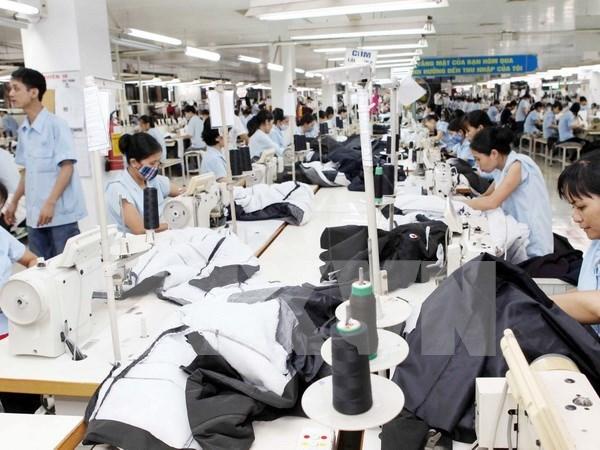 2019年前3月越南纺织品服装出口额达87亿美元 hinh anh 1