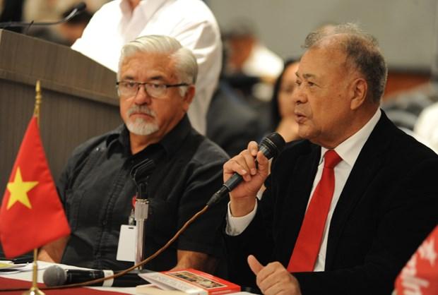 越南共产党代表团出席在墨西哥举行的国际研讨会 hinh anh 2