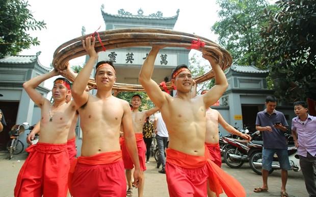 越南坐地拔河荣获UNESCO颁发的非物质文化遗产证书 hinh anh 1