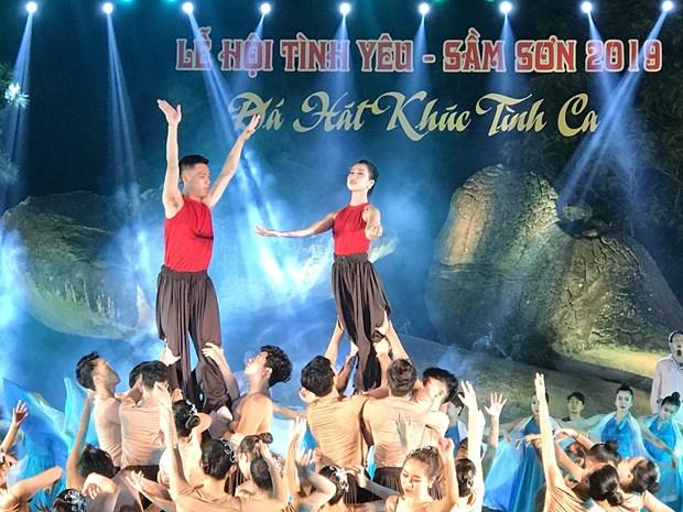 清化省首次举行爱情节 打造新旅游产品 hinh anh 1