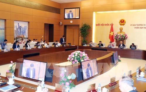 越南第十四届国会常委会第33次会议明日开幕 hinh anh 1