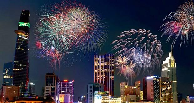 胡志明市举行多项活动庆祝越南南方解放日44周年 hinh anh 1
