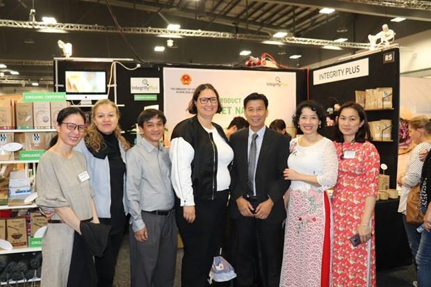 越南驻新西兰大使馆参加Go Green Expo 2019 hinh anh 1