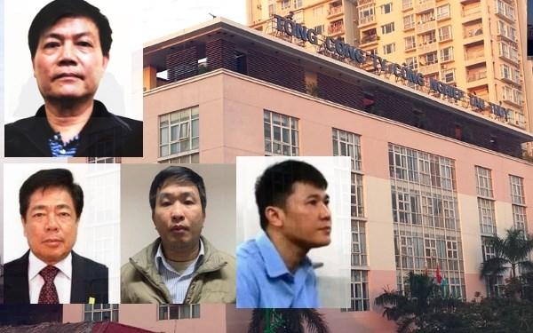 Vinashin前四名领导干部因涉嫌侵吞存款利息额外款项被起诉 hinh anh 1