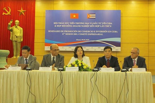 越古大力促进两国经贸合作发展 hinh anh 1