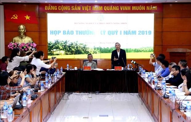 今年第一季度农业增长率达2.68% hinh anh 1