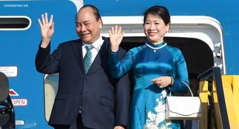 越南政府总理阮春福即将对罗马尼亚和杰克进行正式访问 hinh anh 1