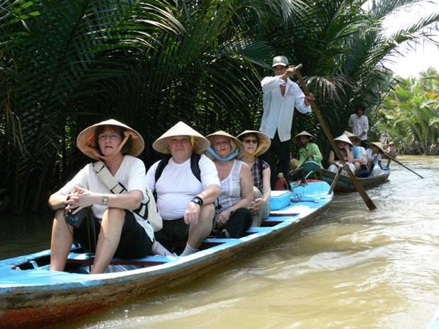 前江省实现旅游宣传方式多样化 吸引更多游客前来旅游 hinh anh 1