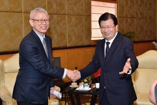 越南鼓励泰国企业对越投资 hinh anh 1