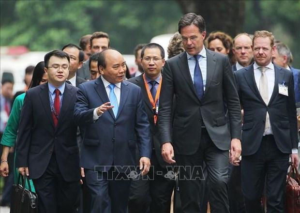 荷兰首相马克·吕特圆满结束对越南进行的正式访问 hinh anh 1