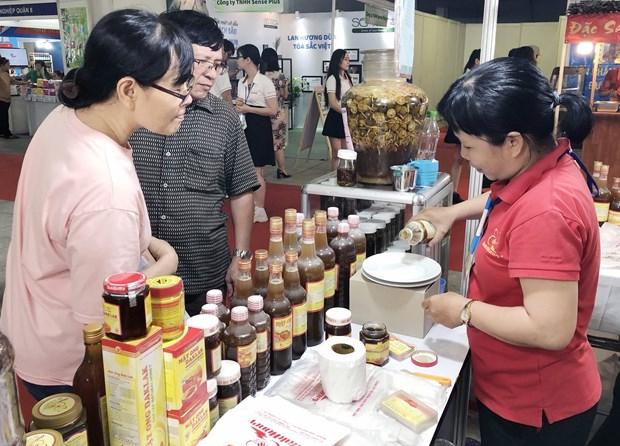 2019年越南货展销会在胡志明市开幕 hinh anh 1
