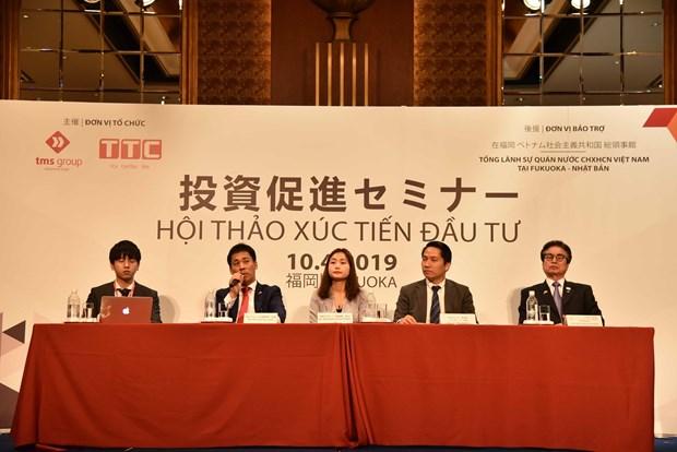 日本投资商希望获取有关越南房地产市场的更多信息 hinh anh 1