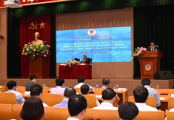 控制国家审计权力 预防和打击腐败 hinh anh 1