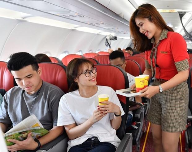 2018年越捷航空公司营业收入增长约49% hinh anh 1