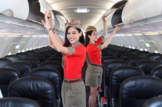 2018年越捷航空公司营业收入增长约49% hinh anh 2