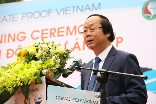 """""""越南气候—教育合作努力实现平原地区可持续变革""""项目正式启动 hinh anh 1"""