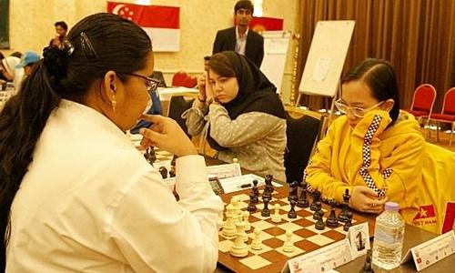 2019亚洲国际象棋青少年锦标赛:越南队位居团体第一 hinh anh 1