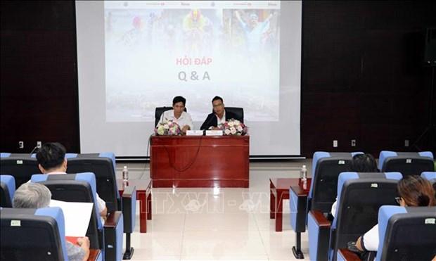 越南首承办亚太铁人三项赛IRONMAN70.3 hinh anh 1