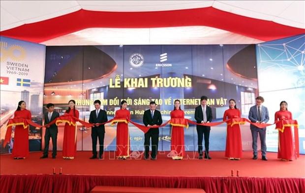 越南物联网创新中心正式问世 hinh anh 1