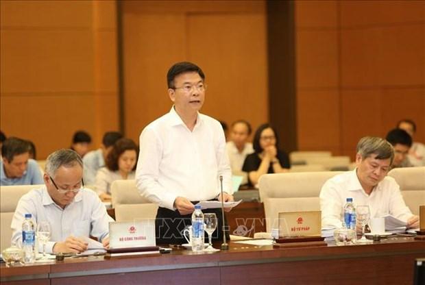 越南修改完善国内法 使之符合国际承诺 hinh anh 1