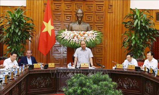 越南政府总理:4月份之内出台《规划法》的实施细则 hinh anh 1