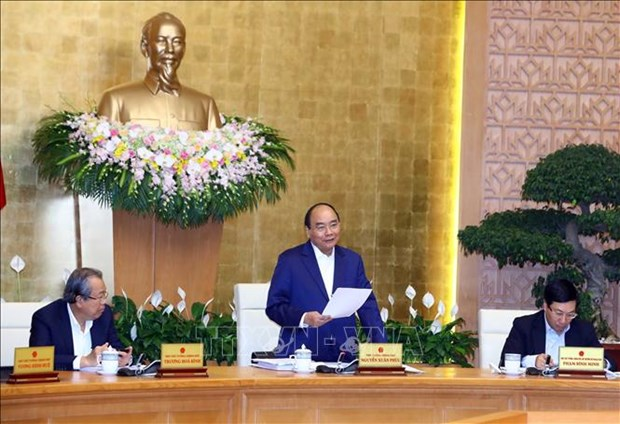 越南政府将采取六项措施促进经济增长 hinh anh 1