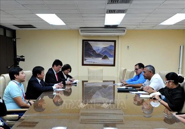 越通社与古巴各伙伴加强合作 hinh anh 1