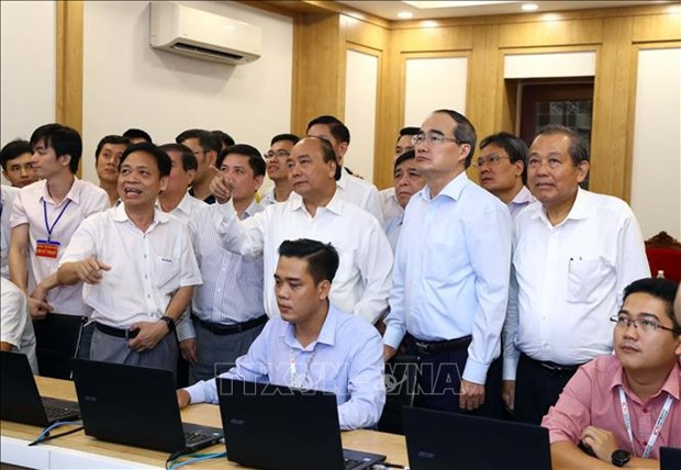 政府总理阮春福:胡志明市继续成为全国重要经济火车头 hinh anh 2