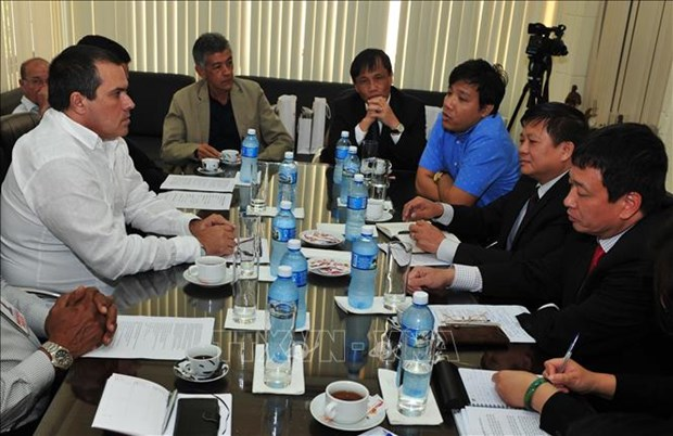 越通社与古巴各伙伴加强合作 hinh anh 2