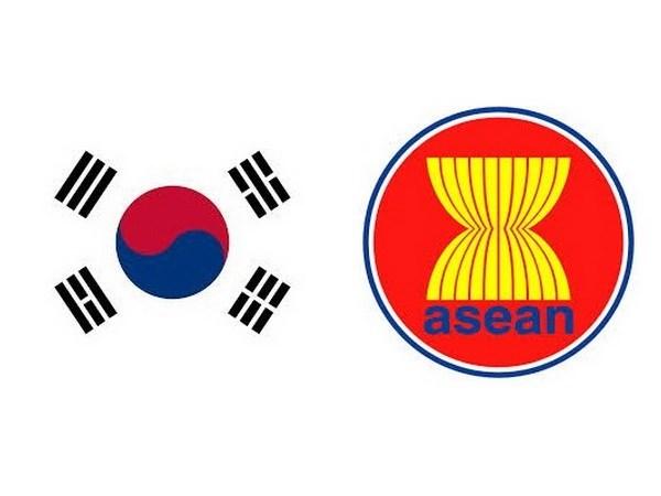 东盟与韩国加强多方面的合作 hinh anh 1