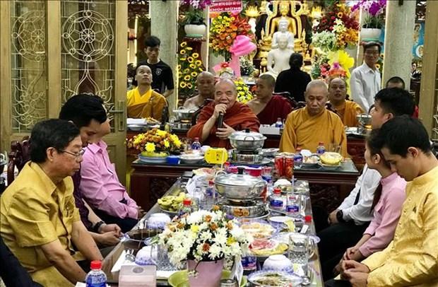 胡志明市举行2019年柬老缅泰传统新年庆贺活动 hinh anh 2