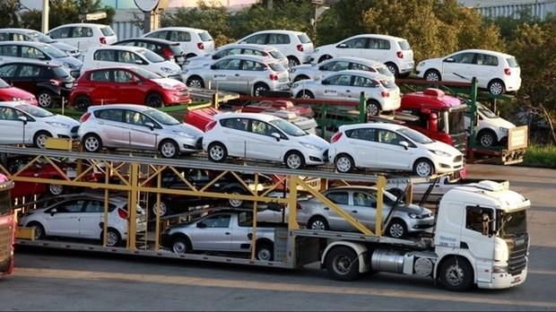 今年第一季度越南进口车销量猛增 hinh anh 1