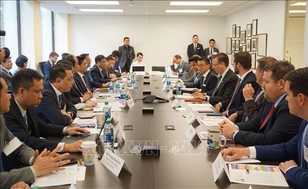 美国东盟商务理事会主席:越南招商引资政策已见效 hinh anh 1