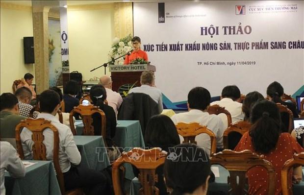 越南农产品和食品对欧洲出口机会广阔 hinh anh 1