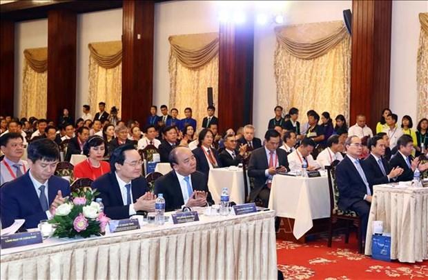 阮春福总理出席2019年越南旅游业人力资源论坛 hinh anh 2