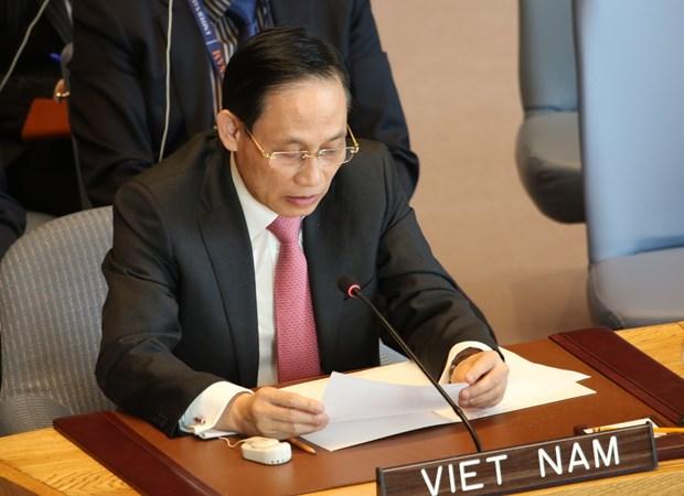 越南高度评价妇女在联合国维和事务中的作用 hinh anh 2