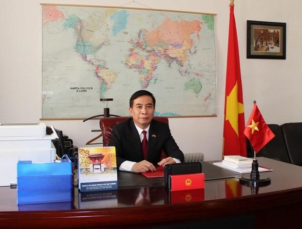 越南驻罗马尼亚大使邓陈风:越南政府总理阮春福访罗为提升越南与罗马尼亚合作水平注入新动力 hinh anh 1