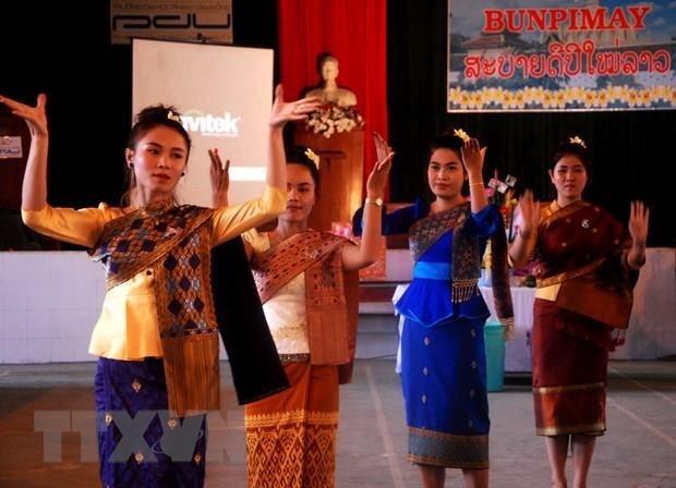 越南政府总理阮春福向老挝总理和柬埔寨首相致以节日祝福 hinh anh 1