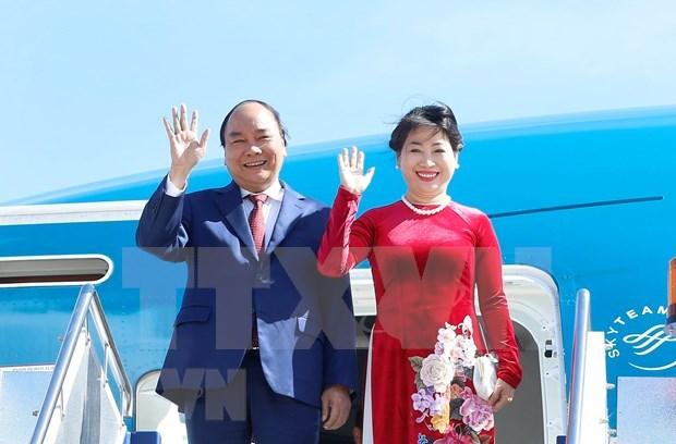越南政府总理阮春福对罗马尼亚进行正式访问:推动越南与罗马尼亚传统友好合作关系深入务实发展 hinh anh 1
