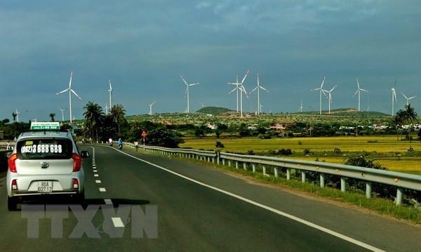 越南广治省投资逾1.53万亿越盾兴建风力发电厂 hinh anh 1